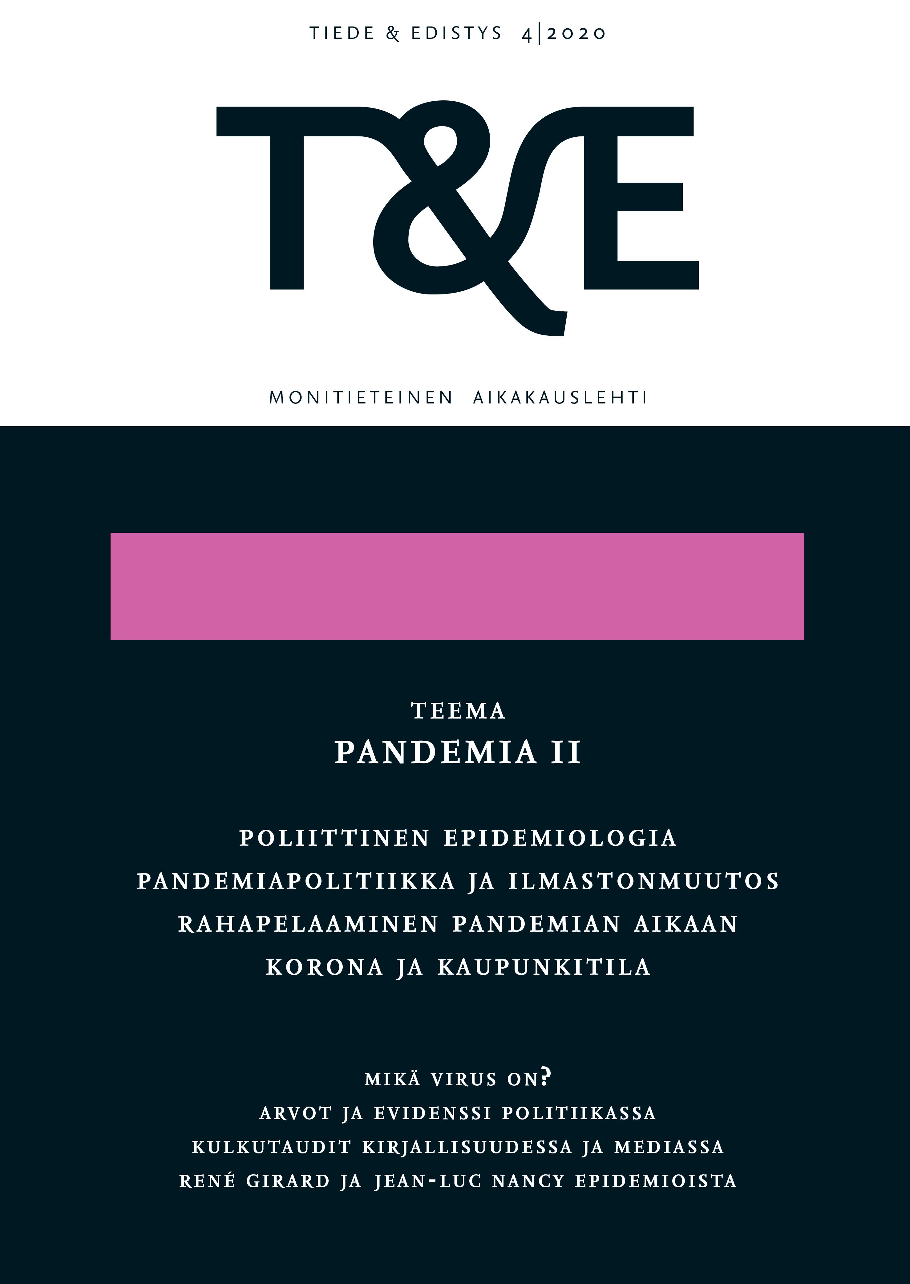 Näytä Nro 4 (2020): Pandemia II